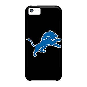 Great Hard Cell-phone Cases For Iphone 5c (AJY15400Ppzl) Support Personal Customs Fashion Detroit Lions 7 Skin