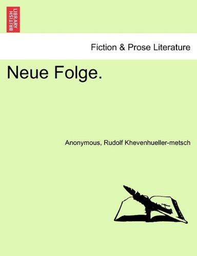 Download Neue Folge. V. Band. (German Edition) pdf