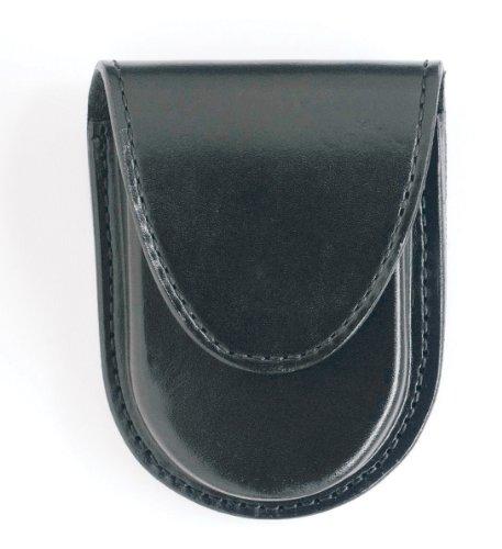 Gould & Goodrich B583 Round Bottom Handcuff Case Place On Belt Up to 2-1/4-Inch (Black)