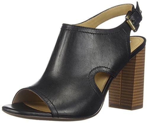 D High B Femme Geox Ouvert Bout Sandalo Sandales Noir c9999 Audalies UgdxnxpwqB