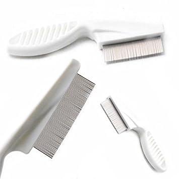 Amazon Com Metal Nit Head Hair Lice Comb Fine Toothed Flea Flee