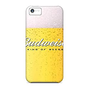 Hard Plastic Iphone 5c Case Back Cover,hot Budweiser Pint Glass Case At Perfect Diy