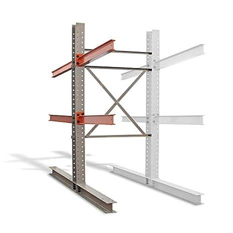 Cantilever - Estructura vertical de doble cara de 2,4 m, resistente