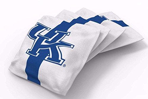Kentucky Wildcats Bean Bag - PROLINE 6x6 NCAA College Kentucky Wildcats Cornhole Bean Bags - Stripe Design (B)