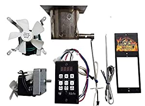 Pellet Pro Complete Upgrade Kit for Traeger, Pit Boss, Camp Chef Pellet Grills w/PID Controller made by  fabulous Smoke Daddy Inc.