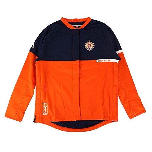 (adidas Connecticut Sun WNBA Authentic On-Court Team Issued Warm Up Jacket Women)