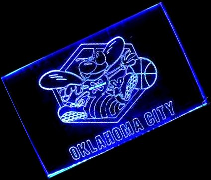 NBA New Orleans Hornets Team Logo with (16 kinds of flashing mode+remote control) Neon Light Sign by scopewise co