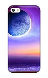 Durable Defender Case For Iphone 5/5s Tpu Cover(space Art )