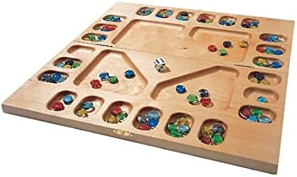 Amazon Com Square Root Games 0021 Four Player Mancala In Natural