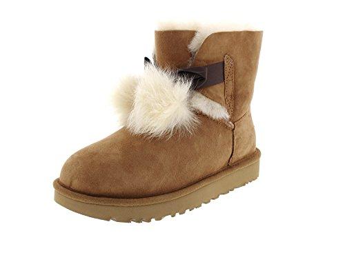 UGG Womans - Boots Gita 1018517 - Chestnut, Size:7.5 UK
