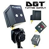 DGT Digital Display Rechargeable Tattoo Machine Battery Pack RCA/DC  CONNECTOR (RCA)