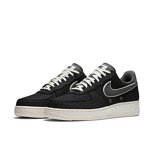 Nike Mens Air Force 1 High '07 LV8 Basketball Sneakers 718152 (14 M US, Black/Dark Grey-Sail)