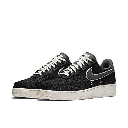 Nike Mens Air Force 1 High '07 LV8 Basketball Sneakers 718152 (15 M US,  Black/Dark Grey-Sail)