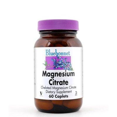 Bluebonnet питание, цитрат магния, 120 Caplets