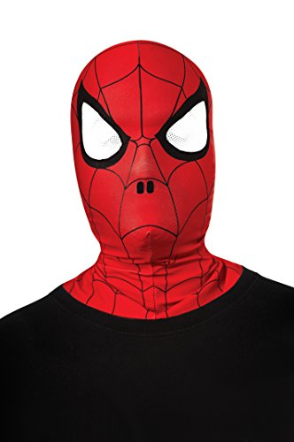 Rubies Marvel Ultimate Spider-Man Overhead Fabric Mask, Child Size -