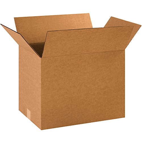 "BOX USA B181214R50PK Corrugated Boxes, 18"" L x 12"" W x 14"" H, Kraft (Pack of 50) from BOX USA"