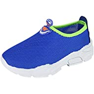 Toddlers Kids Summer Sneakers, LIM&Shop Boys Girls Casual Sports Shoes Mesh Panel Flats Slippers Running Anti-Slip Blue