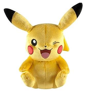 TOMY Pokemon – Pikachu de Peluche para niños de 3 años – Que ríe t71799 A2