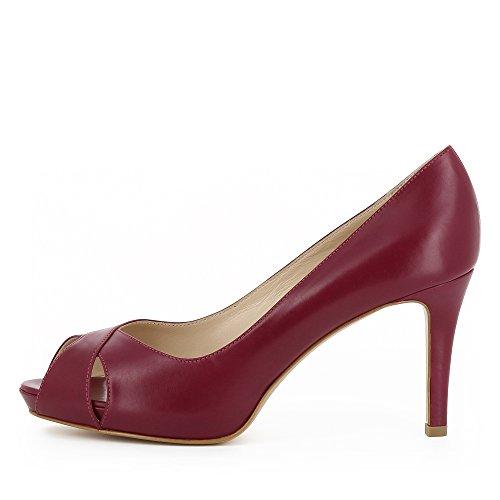 Evita Elisa Damen Glattleder Shoes Peeptoe 7w6r754xq