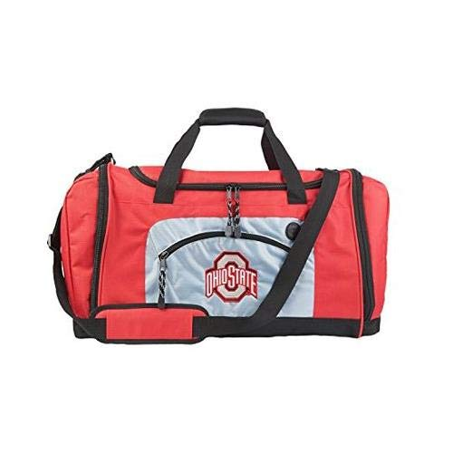 The Northwest Company Officially Licensed NCAA Ohio State Buckeyes Roadblock Duffel Bag (Ohio State Basketballs)