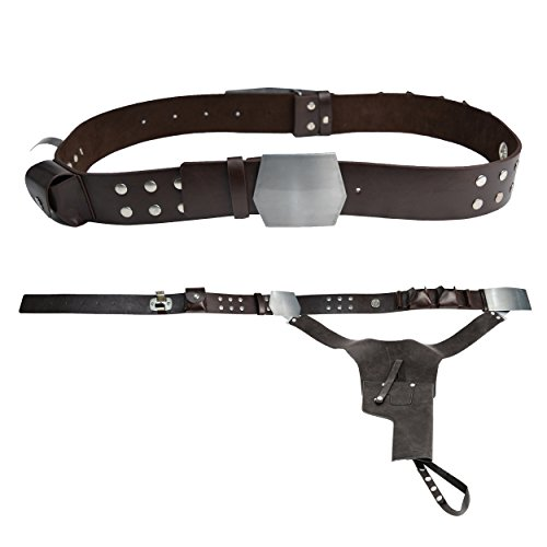Jedi-Robe Men's Star Wars Han Solo Belt And Holster Large Brown (Solo Costumes)