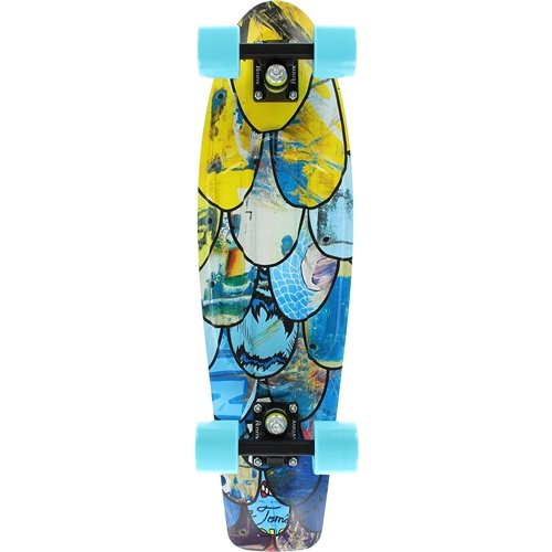 Penny Nickel Graphic Skateboard - I Ride I Recycle 27""