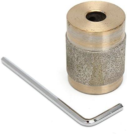 KUNSE 1 Inch Gel-Bit Für Bunt Glasschleifer Standard Diamant Kupfer Schleifer Mit Schlüssel