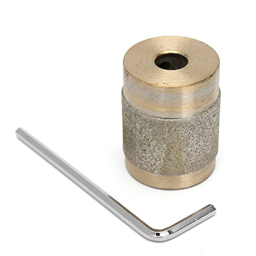 1 inch Gel Bit for Stained Glass Grinder Standard Diamond Copper Grinder with Key Isali