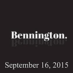Bennington, Mark Normand, September 16, 2015