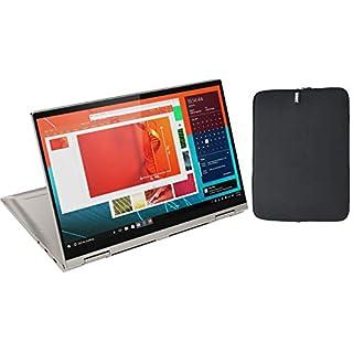 "2020 Lenovo Yoga C740 14"" FHD IPS Touchscreen 2-in-1 Laptop PC, 10th Gen Intel Core i5-10210U, 8GB RAM, 256GB PCIe SSD, Backlit Keyboard, Aluminum Chassis, Windows 10 + Woov Laptop Sleeve Bundle"