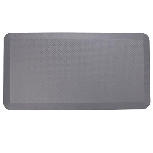 Flexispot Anti-Fatigue Non-Slip Comfort Kitchen Floor Mat Standing Desk Mat (Grey)