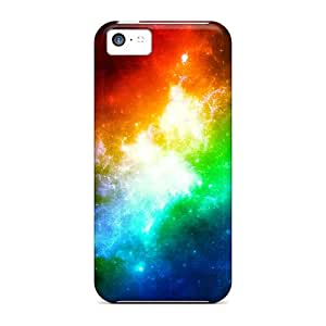 Tough Iphone HtUMeNh2002VTvlf Case Cover/ Case For Iphone 5c(colors In Space)