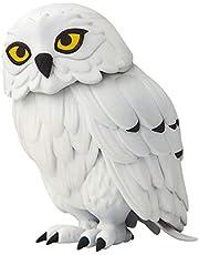 Jakks 400014 - Harry Potter uil Hedwig als interactieve figuur, ca. 12,7 cm groot, kan de kop 180 graden draaien, met geluidssensor en uillengtes, geschikt vanaf 4 jaar