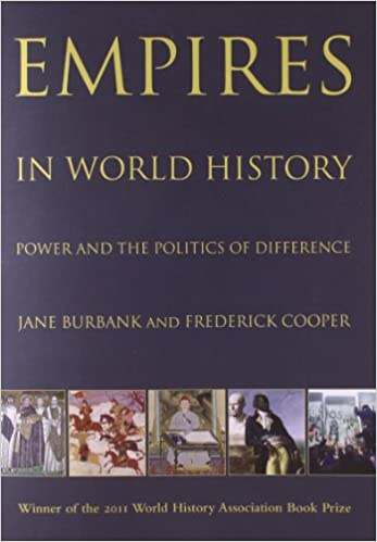 Empires in World History: Power and the Politics of Difference: Amazon.es: Jane Burbank, Frederick Cooper: Libros en idiomas extranjeros
