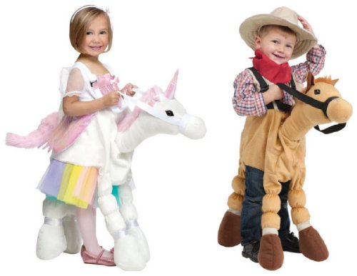 Fun World Costumes Baby's Ride-A-Pony Costume, Brown, One Si