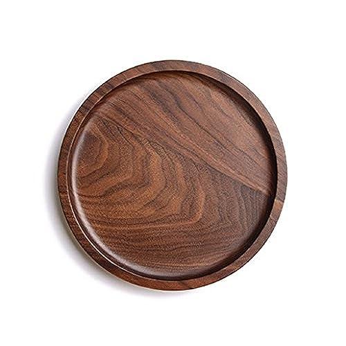 Round Wooden Trays Amazon Com