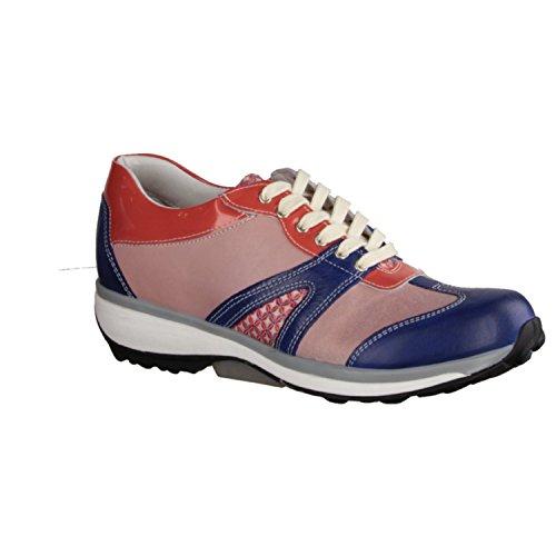 X sensible Milano 300242657G - Zapatos cómodos / relleno suelto Zapatos mujer Cómodo Zapatos de cordones, Varios colores, piel ceñida/textil