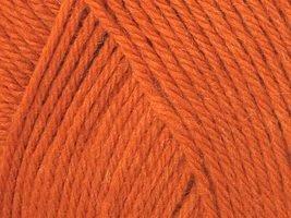 - Ella Rae Classic Wool Yarn #334 Orange Delight 100g