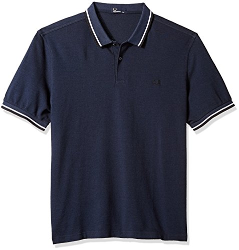 Perry ShirtMaglietta Oxf Fp Tipped Fred Uomo Twin Serv Blu Blk WE9DH2IY