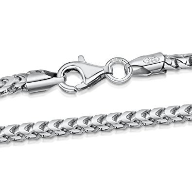 Buy silver link chain for women