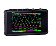 Cheffort DS213 Pocket-Sized Handheld Mini Digital Storage Oscilloscope 8MB Memory Storage 4 Channel 100MSa/s for Electronic Maintenance, Electronic Engineering