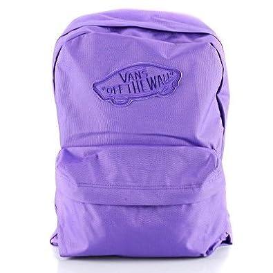 dd0055153e Vans G Realm Passion Flower Purple Violet Backpack Rucksack: Amazon.co.uk:  Shoes & Bags