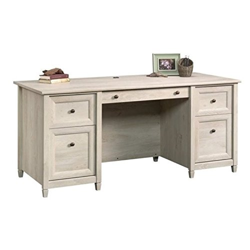 Bowery Hill Computer Desk in Chalked Chestnut by Bowery Hill