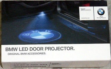 BMW OEM LED Door Logo Projector - All Models OEM BMW Brand Factory Packaging Bmw Oem