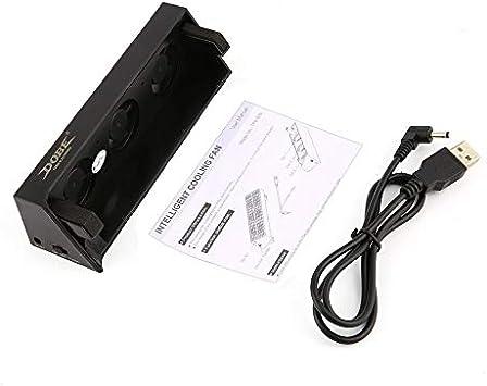 Ventilador USB Externo Super Turbo Inteligente Temperatura ...