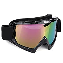 Snowboard Ski Goggles,Snow Eyewear Skate Glasses,Anti Fog UV protection Dustpoof and Windproof Mask for Outdoor sports