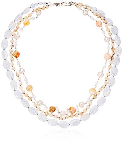 Chan Luu Short Multi Strand Necklace, 16'' by Chan Luu