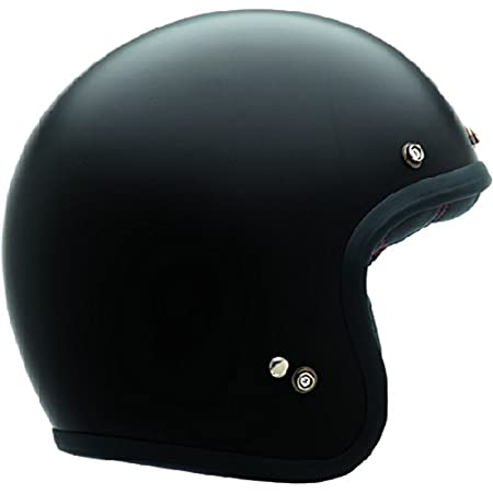 Bell 7050052 Custom 500 DLX Casco, Solido Negro Mate, Talla L Bell Powersports