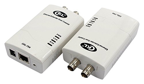 (CKL 3KM Rj45 Internet Network Ethernet Extender, IP Data & CCTV Transmission Over Coaxial or Twisted-Pair Cable CKL-704)