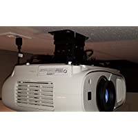 Epson Home Cinema 3700/3500/3000/3600 Projector Mount with optional extension pole by Vega A/V Systems